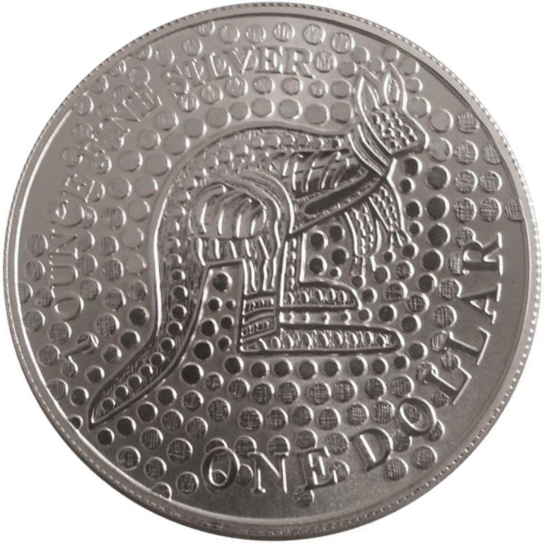 2014 AUSTRALIA KANGAROO SERIES 1 OZ $1 ONE DOLLAR PURE SILVER PROOF COIN RAM
