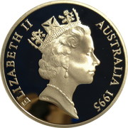 5 Dollars - Elizabeth II (3rd Portrait - The Gold Rush Era - Masterpieces in Silver) -  obverse
