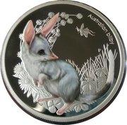 50 Cents - Elizabeth II (4th Portrait - Bush Babies II - Bilby) -  reverse