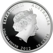 50 Cents - Elizabeth II (4th Portrait - Manta Ray) – obverse