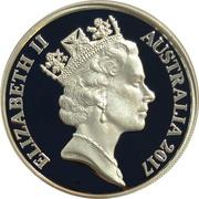 1 Cent - Elizabeth II (3rd Portrait - Silver Proof) -  obverse