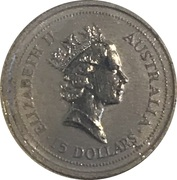 15 Dollars - Elizabeth II (3rd Portrait - Koala Platinum Bullion Coin) -  obverse