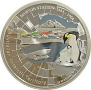 1 Dollar - Elizabeth II (4th Portrait - Mawson Station) -  reverse