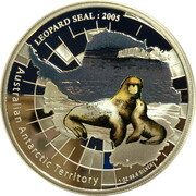 1 Dollar - Elizabeth II (4th Portrait - Leopard Seal) – reverse