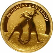 15 Dollars - Elizabeth II (4th Portrait - Kangaroo - Gold Bullion Coin) -  reverse