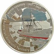 1 Dollar - Elizabeth II (4th Portrait - Davis Station) -  reverse