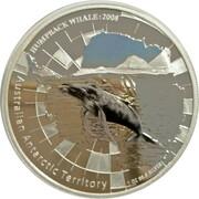 1 Dollar - Elizabeth II (4th Portrait - Humpback Whale) -  reverse