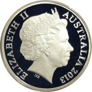 1 Dollar - Elizabeth II (4th Portrait - Sydney Opera House) -  obverse