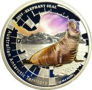 1 Dollar - Elizabeth II (4th Portrait -  Elephant Seal) -  reverse