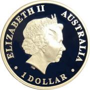 1 Dollar - Elizabeth II (4th Portrait - Saltwater Crocodile) -  obverse