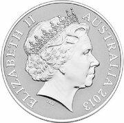 1 Dollar - Elizabeth II (4th Portrait - Saltwater Crocodile - Silver Proof) -  obverse