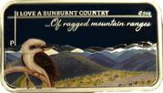 1 Dollar - Elizabeth II (4th Portrait - ...Of ragged mountain ranges) -  reverse