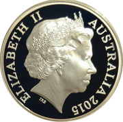 1 Dollar - Elizabeth II (4th Portrait - Explorers' First Sightings) -  obverse