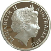 1 Dollar - Elizabeth II (4th Portrait - UNESCO Great Barrier Reef) -  obverse