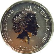 1 Dollar - Elizabeth II (4th Portrait - Sydney New Year's Eve) -  obverse