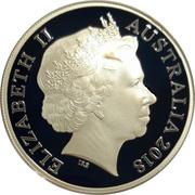 5 Dollars - Elizabeth II (4th Portrait - Invictus Games Sydney 2018) -  obverse