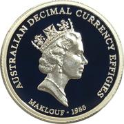 1 Dollar - Elizabeth II (4th Portrait - Maklouf Effigy - Silver Gem-Proof) -  reverse