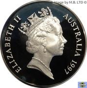 1 Dollar - Elizabeth II (3rd Portrait - Australia's Old Parliament House) -  obverse