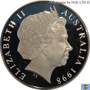 1 Dollar - Elizabeth II (4th Portrait - Australia's New Parliament House) -  obverse