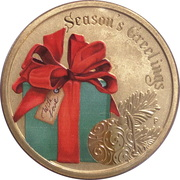 1 Dollar - Elizabeth II (4th Portrait - Season's Greetings) -  reverse