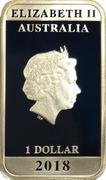 1 Dollar - Elizabeth II (4th Portrait -Posters of WW1 - Peace Bonds) – obverse