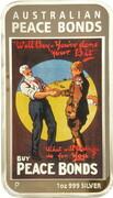 1 Dollar - Elizabeth II (4th Portrait -Posters of WW1 - Peace Bonds) – reverse