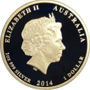 1 Dollar - Elizabeth II (4th Portrait - Aviation) -  obverse