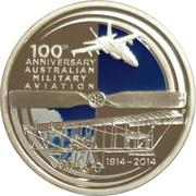 1 Dollar - Elizabeth II (4th Portrait - Aviation) -  reverse