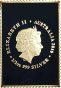 60 Cents - Elizabeth II (4th Portrait - Mary MacKillop - Stamp Shaped) -  obverse