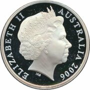 5 Dollars - Elizabeth II (4th Portrait - 150 Years of State Government Victoria - Silver Proof) -  obverse