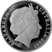 5 Dollars - Elizabeth II (4th Portrait - Margaret Preston - Masterpieces in Silver) – obverse