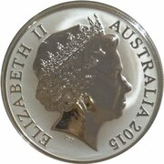 5 Dollars - Elizabeth II (4th Portrait - Australian Lighthouses Aids to Navigation - Silver Proof) -  obverse