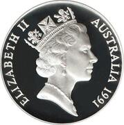10 Dollars - Elizabeth II (3rd Portrait - Jabiru - Piedfort) -  obverse
