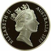 10 Dollars - Elizabeth II (3rd Portrait - Palm Cockatoo - Piedfort) -  obverse