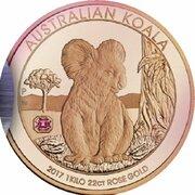 5000 Dollars - Elizabeth II (4th Portrait - The Australian Trilogy - Koala) -  reverse