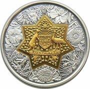 20 Dollars - Elizabeth II (4th Portrait - Centenary of Federation- Floral Emblems) -  reverse