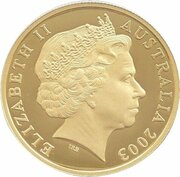 100 Dollars - Elizabeth II (4th Portrait - Golden Jubilee - Gold Bullion Coin) – obverse