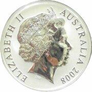 1 Dollar - Elizabeth II (4th Portrait - Mombassa Kangaroo - Silver Gilded Proof) -  obverse