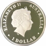 1 Dollar - Elizabeth II (4th Portrait - Saint Mary Mackillop) -  obverse