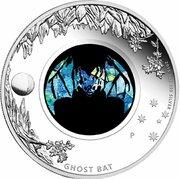 1 Dollar - Elizabeth II (4th Portrait - Opal Ghost Bat) -  reverse