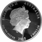 1 Dollar - Elizabeth II (4th Portrait - Princess Charlotte) -  obverse
