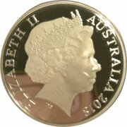 1 Dollar - Elizabeth II (4th Portrait - Armistice Centenary 1918-2018) -  obverse