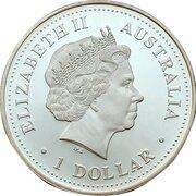 1 Dollar - Elizabeth II (4th Portrait - Millennium) – obverse