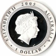 1 Dollar - Elizabeth II (4th Portrait - End of World War II) – obverse