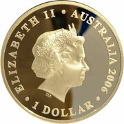 1 Dollar - Elizabeth II (4th Portrait - Figures of Note - Kingsford Smith & Hargrave) – obverse