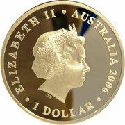 1 Dollar - Elizabeth II (4th Portrait - Figures of Note - Macarthur & Farrer) -  obverse