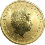 1 Dollar - Elizabeth II (4th Portrait - 85th Birthday Queen Elizabeth II) – obverse