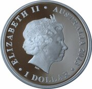1 Dollar - Elizabeth II (4th Portrait - Lord Howe Island group) -  obverse