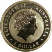 1 Dollar - Elizabeth II (4th Portrait - Australian Koala) -  obverse