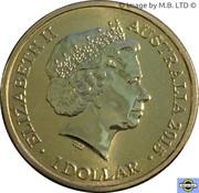 1 Dollar - Elizabeth II (4th Portrait - Unlikely Heroes - Horrie the Dog) -  obverse